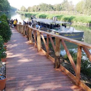 In bici (e barca) lungo il Grande Fiume verso Bondeno
